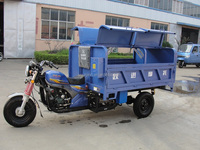 3 wheel heavy load three wheel motorcycle 250cc engine dump climbing tricycle for cargo