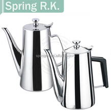 1.5L/1.9L stainless steel pour over coffee pot