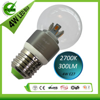 New products !!! Alibaba express 2700K 4W E27 LED Bulb light