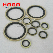Brass/ Stainless steel/ Plated metal Rubber Gasket