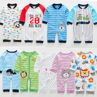2015 Hot Sale Organic Cotton Baby Toddler Clothing For Animal Printing