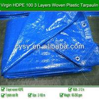 high quality 100% new material plastic tarpaulin /truck tarpaulin /pe tarpaulin sheet with different mesh 7*7---14*11