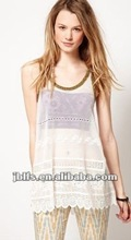 2012 Most fashionable knit tank top for women