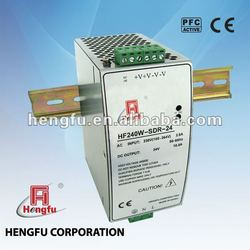 240W Din Rail Switching Power Supply with PFC