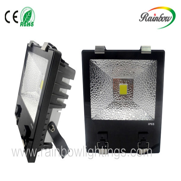 high luminance 70W led flood light with meanwell driver IP 65 waterproof for outdoor use