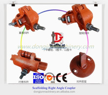 color zinc plated scaffold right angle coupler