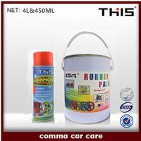 4L Colorful silicone peelable car plastic liquid rubber coating