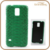 Green Genuine Python Skin Snakeskin Leather Phone Case for Samsung Galaxy 6 Edge Plus