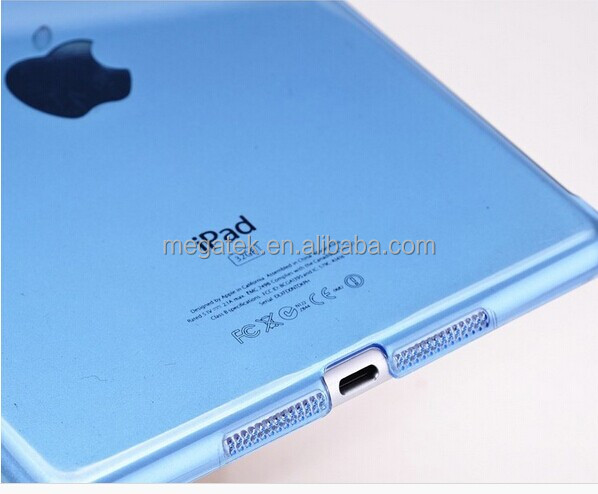 smart cover companion clear crystal case for ipad mini, for ipad case crystal,for ipad mini case crystal