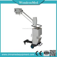CE certificate 70mA current mobile digital X ray machine