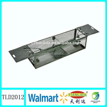 Best humane wire mesh live catch rat trap cage with two spring doors , Factory outlet TLD2012