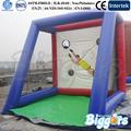 portátil de portería de fútbol inflable con precio de fábrica