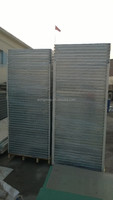 Mineral wool soundproof sandwich panel / supplied with galvanized fixing material