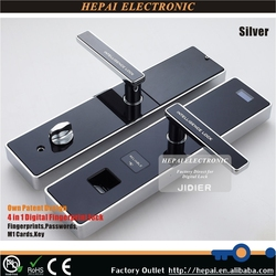Electronic fingerprint lock, fingerprint digital door lock, security digital lock