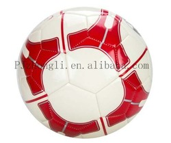 Wholesale high quality PU PVC size 5 football balls training machine stitched soccer ball