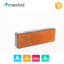 Portable rechargeable Stereo Bass sound Bluetooth Speaker with Dual Drivers