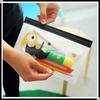 2014 hot sale PVC pencil bag pen pouch