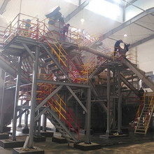 spent lead acid battery crushing and separating recycling machine recycle plant in high quanlity
