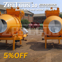 JZM350 cement industry equipment. used portable concrete mixers, solid wheels for concrete mixer