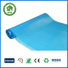 Water-Proof Flooring Underlayment Recycled blue EPE Foam Cover Film