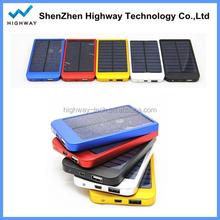 HIGHWAY 0.7w Portable Solar Battery Charger Flexible Solar Power Bag 2600mah