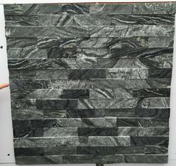 Stacked Stone Ledger panels- Antique Wood Marble Split Face