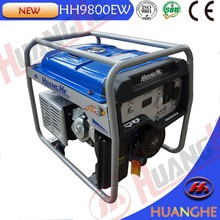 Large muffler low noise air-cooled gasoline generator set