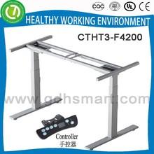Commercial treadmill desk with height adjuter leg