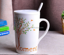 015 starbuck style ceramic ad gift mug,  his and her/ unisex/lovers light and dull coffee cup,