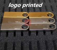 U disk 8 g ultra-thin waterproof stainless steel engraving usb custom logo usb flash drive