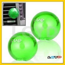 Car Air Conditioner Fresh Green Fragrance, Pair(Green)