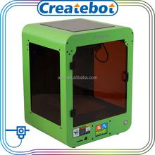Touch screen createbot stampante 3d 0,4mm mk8 ugello metallico della stampante 3d colore verde mini stampante 3d mingda