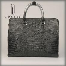 Good selling tote genuine leather men handbags famous