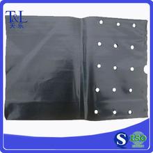 Top sales in USA market! Black flower pouch, black flower pocket
