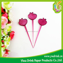 Popular Design Plastic Fruit Fork With 10 years Manufacture Experience