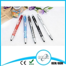 Promotional hot selling metal cross customized logo touch ball pen