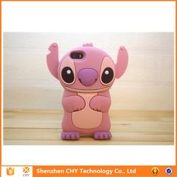 Hot Selling Stitch Silicone Rubber soft Phone case for samsung galaxy core i8260 i8262
