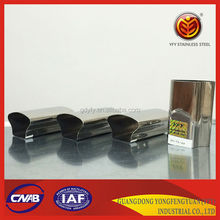 stainless steel mushrooms tube, decoration tube with grade 201 202 304 316 430
