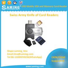 USB Mobile SIM and Memory Card Reader