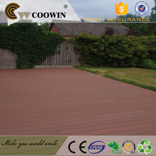 Red wood Waterproof WPC composite decking material