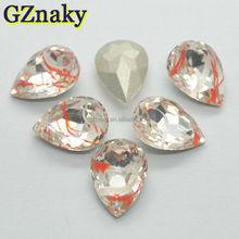10x14mm top quality Teardrop pear cut loose gemstones hot selling
