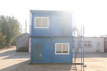 solid recyclable office and school pushable cabin house