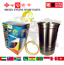 iron cast zs1110 cylinder liner for diesel engine free O-ring!