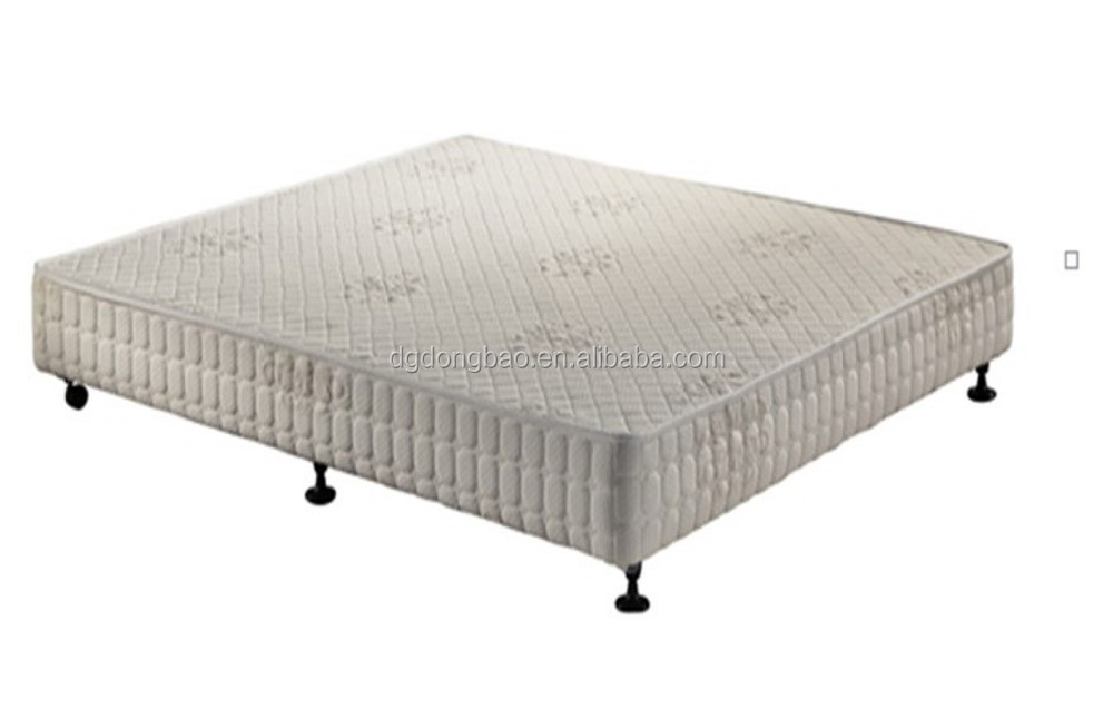 Bed frame quilted cover bed base bedroom set buy bedroom for Quilted bed frame