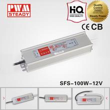 led driver manufacturer waterproof electronic transformer 100w 12v led power supply
