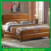 New product furniture China supplier carved solid cot bed wood furniture (XFW-676)