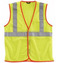 Hi Vis Workwear Class 2 Vest Poly Mesh Reflective Material
