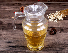 Eco-Friendly 1.5L Glass Jug wholesale For Promotion/glass juice drinking jug