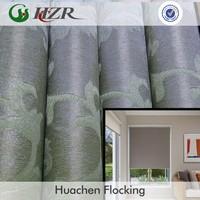 terylene jacquard blackout fabric making drapery home decoration