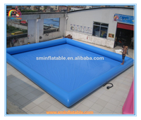 High quality blue swimming pool,inflatable water pool,giant inflatable swimming pool for kids and adult to sale